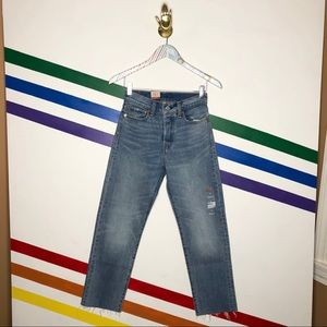 NEW Levi's wedgie straight fit button fly jeans